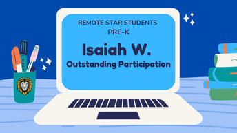 Pre-K Remote Star Students