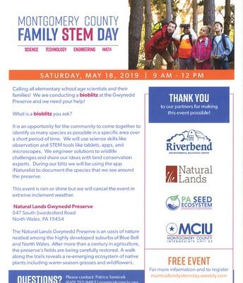 Montco Family STEM Day