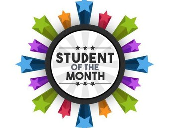 """Early Childcare Program """"Student of the Month"""" for February."""
