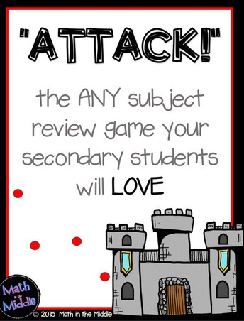 """""""Attack"""" Review Game"""