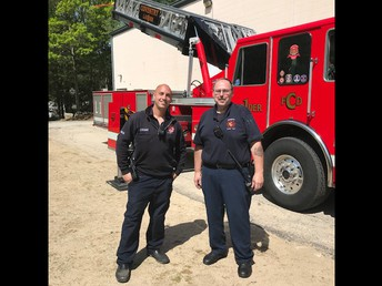 Thanks to our Coventry Fire Dept. for supporting us
