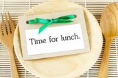 GES Lunch Times for 17-18
