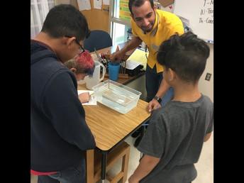 Welcome Mr. Alahmadi to Science!