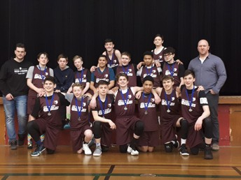Grade 8 Boys Basketball