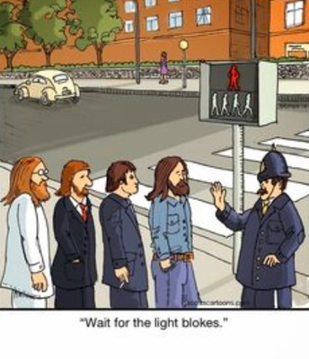 The Beatles had their own crossing light.  It lasted 29 IF.