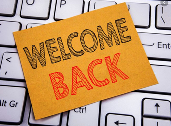 Welcome Back & THANKS!