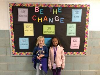 Dani & Layla, 2nd grade