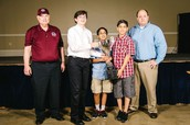 MCCL Team Cup Winner - Liberty Middle School