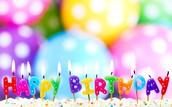 Happy Birthday this Week!