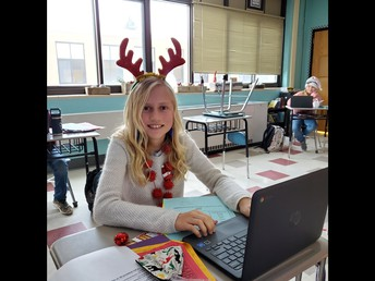 Reindeer must work before playing reindeer games!