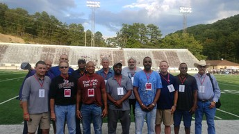 Coach Blevins Honored at Bluefield College