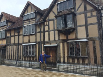 William Shakespeare´s childhood home