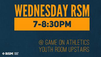 RSM Wednesday