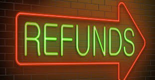 Refunds Coming