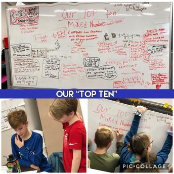 4th Grade's Top Ten Fraction Strategies!
