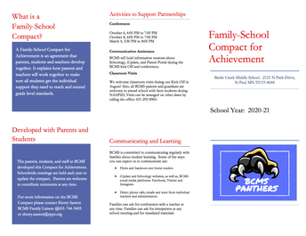 Family School Compact for Achievment