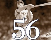 Joe Dimaggio 56 game Hitting Streak