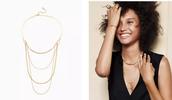 Drape Collar Necklace > $45