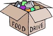 AMES STUDENT COUNCIL FOOD DRIVE
