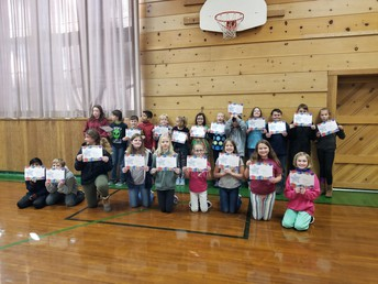 4th-6th grade Achievement Awards