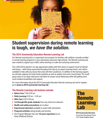 The Remote Learning Lab