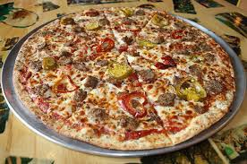 Pizza and finger foods