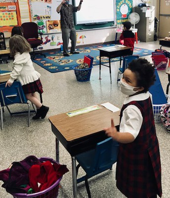 Keeping the Beat in Kindergarten
