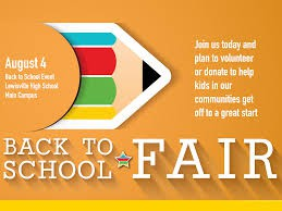 LEF Back-to-School Fair Fundraiser