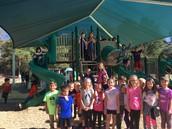 New Playgrounds full of kids having fun!