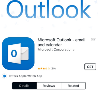 Step Two: Search for Microsoft Outlook