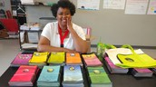 Teacher Welcomes Donation from LearnEd Notebooks