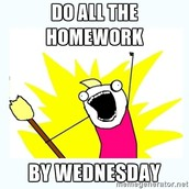 Assignments Due Wednesday (2/21/17)