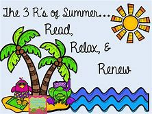 Have a happy, safe, and restful Summer!