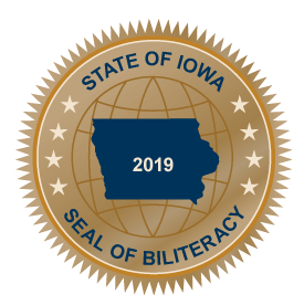 Iowa Biliteracy Seal...Applications being taken now!