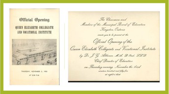 Program from opening of QECVI