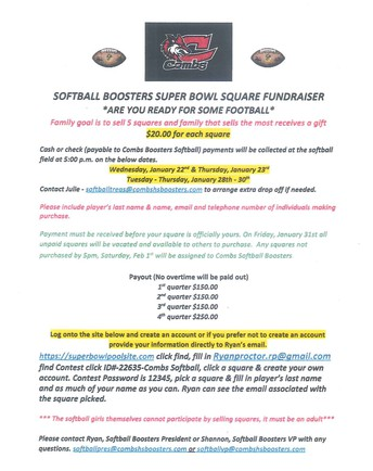 CHS SOFTBALL FUNDRAISER