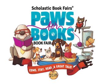 Pawsitively Pawsome Spring Book Fair  -  Online Orders Can Be Made Through 4/6!