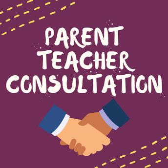 Parent Teacher Consultation - by Mr Aidan Stallwood