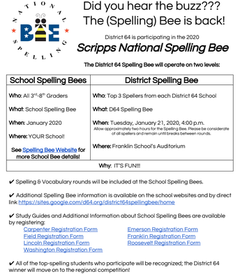 The Spelling Bee is Back!