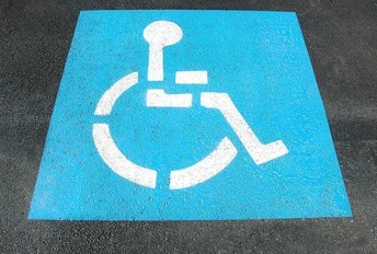 AES Disabled Person Parking Spots