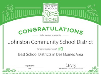 JCSD Ranked #1 District in Metro