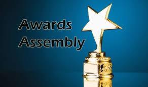 1st Semester Awards Assembly Friday, January 17, 2020