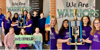 Westfield Students Take 1st Place in Battle of the Books!