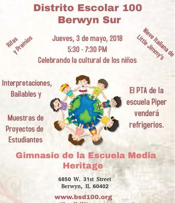 Jueves Mayo 3,  5:30-7:30