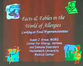 Allergy Awareness Presentation