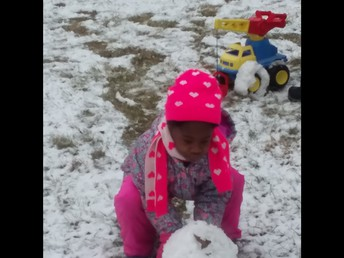 Here is how I started my snowman