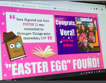 """""""Easter Egg"""" Winner"""