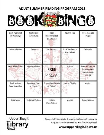 Adult Summer Reading Program!