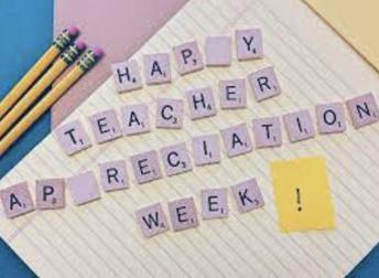 It's Teacher Appreciation Week!