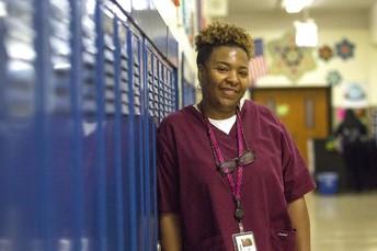PHYLLIS BARBER -  School Nurse